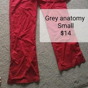 Grey's Anatomy Other - Red scrub set